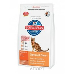 Hill's Science Plan Feline Adult Optimal Care with Lamb 0,4 кг