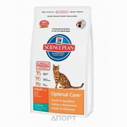 Hill's Science Plan Feline Adult Optimal Care with Tuna 0,4 кг