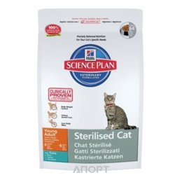 Hill's Science Plan Feline Young Adult Sterilised Cat Tuna 3,5 кг