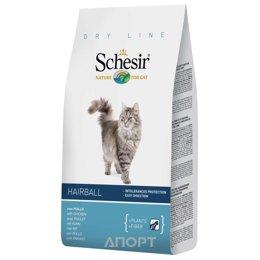 Schesir Hairball сухой корм для длиннешерстных кошек (с курицей) 1,5 кг