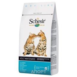 Schesir Maintenance сухой корм для кошек (с рыбой) 1,5 кг