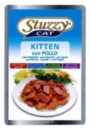 Фото Stuzzy Cat консервы для котят с курицей 100 гр