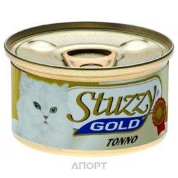 Stuzzy Gold консервы для кошек кусочки тунца в собственном соку 85 гр