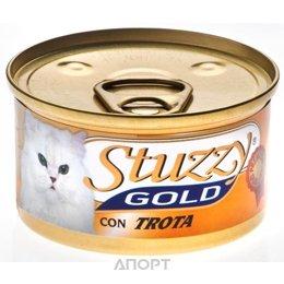 Stuzzy Gold консервы для кошек мусс из форели 85 гр