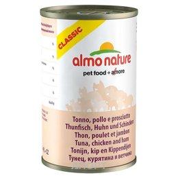 Almo Nature Classic Adult Cat Tuna, Chicken and Ham 0,14 кг