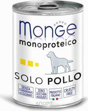 Фото Monge Monoproteico Solo Паштет из курицы 400 г
