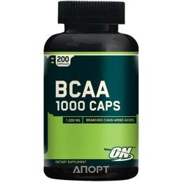 Optimum Nutrition BCAA 1000 Caps 200 caps