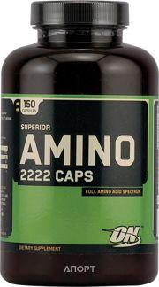 Фото Optimum Nutrition Superior Amino 2222 Caps 150 caps