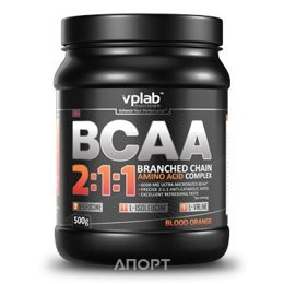 VPLab BCAA 2:1:1 500g (62 servings)