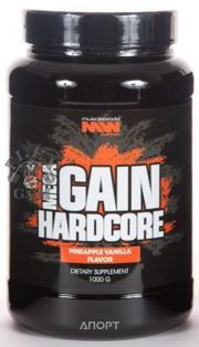 Фото Muscle World Nutrition Mega Gain Hardcore 1000g