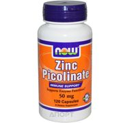 Фото Now Zinc Picolinate 50 mg 120 caps