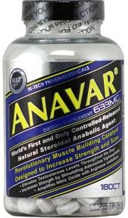 Фото Hi-Tech Pharma Anavar 180 tabs