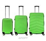 Фото Monopol Комплект чемоданов 3в1 Bora (L+M+S)