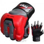 Фото RDX Снарядные перчатки, битки Red