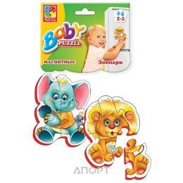 Vladi Toys Беби-паззл на магнитах Зоопарк (VT3208-01)
