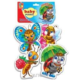 Vladi Toys Беби пазлы Забавные насекомые (VT1106-06)
