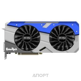 Palit GeForce GTX 1070 GameRock 8Gb (NE51070T15P2-1041G)