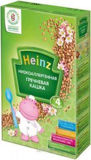 Фото Heinz Низкоаллергенная гречневая каша с 4 мес. 200 г