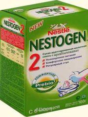 Фото Nestle Nestogen 2 с прибиотиками 700 г