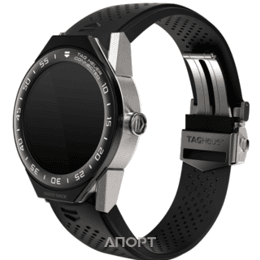 TAG Heuer Connected Modular 45 Black Rubber with Black Mat Ceramic Bezel (SBF8A8013.32FT6076)