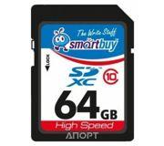 Фото Smartbuy SDXC Class 10 64Gb