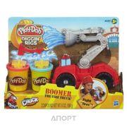 Фото Hasbro Play-Doh Бумер Пожарная машина (A5418)